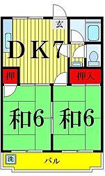 ハイツ79[2階]の間取り