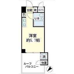 H&Aヒルズ[4階]の間取り