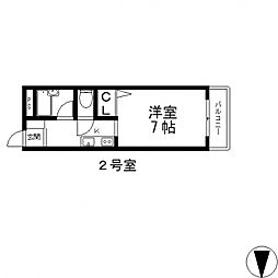 NAO三ノ瀬[302号室号室]の間取り