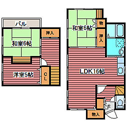 [一戸建] 北海道札幌市豊平区月寒東二条4丁目 の賃貸【/】の間取り