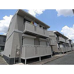 奈良県大和高田市池尻の賃貸アパートの外観