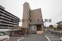 岡山県倉敷市羽島の賃貸マンションの外観