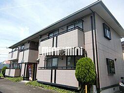静岡県焼津市五ケ堀之内の賃貸アパートの外観