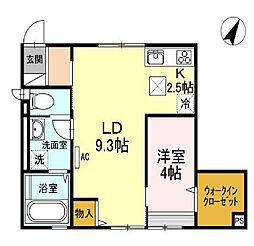 [タウンハウス] 東京都文京区千駄木5丁目 の賃貸【/】の間取り