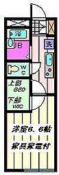 埼玉県さいたま市南区文蔵5丁目の賃貸マンションの間取り
