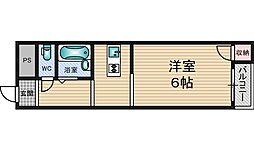 エクト3[6階]の間取り