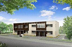 岡山県倉敷市新田丁目なしの賃貸アパートの外観