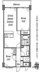 2LDK、専有面積49.68m2、バルコニー面積6.48m2,2LDK,面積49.68m2,価格2,699万円,西武新宿線 田無駅 徒歩1分,,東京都西東京市南町5丁目