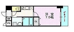 ブランブリエ京橋[5階]の間取り