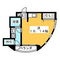 ベルディナトキワ[3階]の間取り