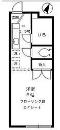 コルシード祐天寺[1階]の間取り