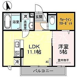 Felice Casa B棟[2階]の間取り