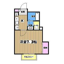 デザインコート久我山[1階]の間取り