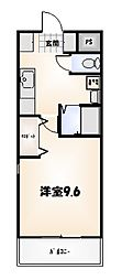 リバティマンション[7-F号室]の間取り