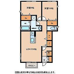 シエロ軽井沢[1階]の間取り