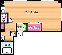 アミティエ片野[3階]の間取り
