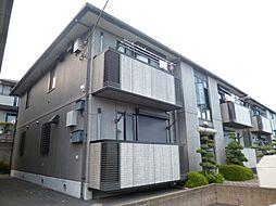 東京都青梅市新町5丁目の賃貸アパートの外観