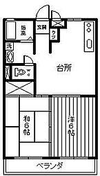 アーバンHIYOSHI[403号室]の間取り