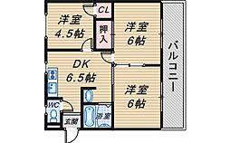 リバーサイドマンション・レオ[101号室]の間取り