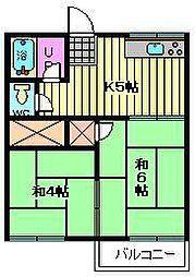ミキハウスパートI[1階]の間取り