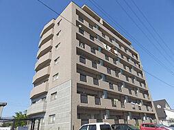 三重県津市港町の賃貸マンションの外観