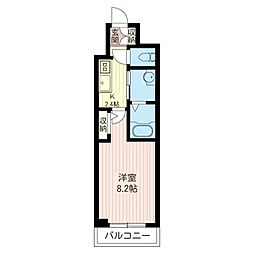 仮)板橋区仲町シャーメゾン[2階]の間取り