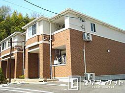 愛知県みよし市打越町上屋敷の賃貸アパートの外観