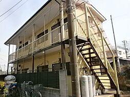 埼玉県新座市野寺5丁目の賃貸アパートの外観