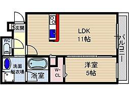 仮称)山崎マンション元町[5階]の間取り