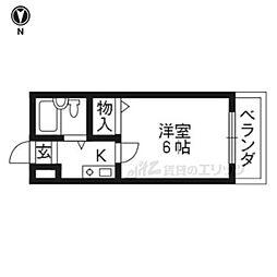 椥辻駅 2.2万円