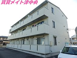 三重県津市桜田町の賃貸マンションの外観
