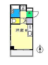 エトワール鴨部II[3階]の間取り