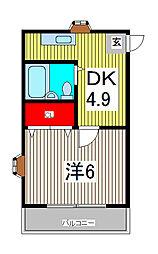 RIPPLE[3階]の間取り