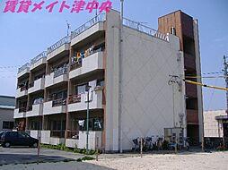 三重県津市高茶屋小森町の賃貸マンションの外観