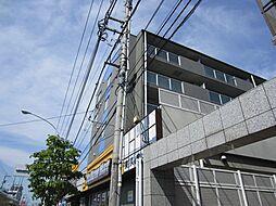 東京都東久留米市前沢2丁目の賃貸マンションの外観
