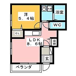 美乃坂本駅 5.4万円