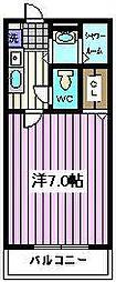 埼玉県さいたま市桜区西堀4丁目の賃貸アパートの間取り
