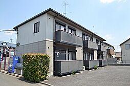 東京都昭島市大神町4丁目の賃貸アパートの外観