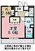 間取り,1K,面積30.25m2,賃料4.9万円,JR常磐線 水戸駅 徒歩23分,,茨城県水戸市根本1丁目215番地