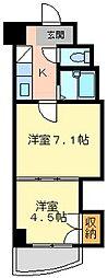 ロイヤルマキシム[11階]の間取り