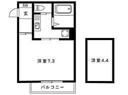 阪神本線 魚崎駅 2階建[n-104号室]の間取り