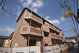 京都府宇治市莵道丸山の賃貸マンションの外観