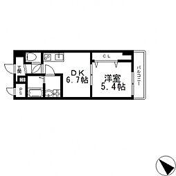 Social Village(ソシアル ヴィレッジ)[503号室号室]の間取り