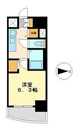 プレサンス金山グリーンパークス[3階]の間取り