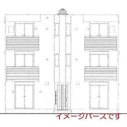 仮称:大和田Tマンション[302号室]の外観