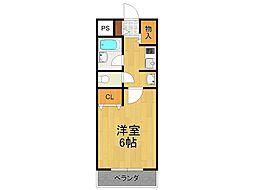 ストーンヘンジ(門前町10-33)[3階]の間取り