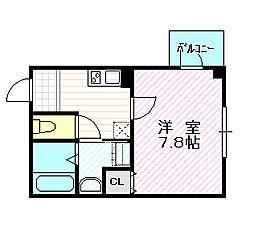 クリアルーチェ[3階]の間取り