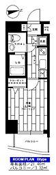 ステージファースト高輪II[5階]の間取り