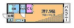 TKガーデンパレスA[1階]の間取り