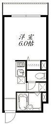 グレイスコート武蔵小杉[1階]の間取り